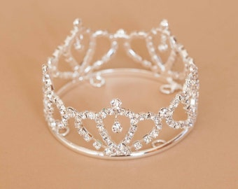 Newborn Rhinestone Crown Tiara Photo Prop #4013