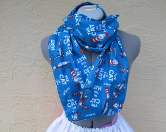 The Cat in the Hat Storybook Infinity Scarf