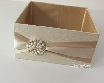 Program and Amenities Box, Bubbles Box, Favor Holder, Centerpiece, Custom Made to your colors