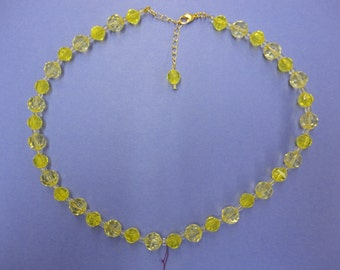 Yellow Fellow Necklace