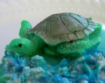 Sea Turtle Soap Bar - Stocking stuffer, gifts for teens, gifts for woman, sea turtle soap