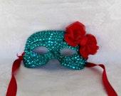Mermaid Mask READY TO SHIP  -- A Precious Memory Designs