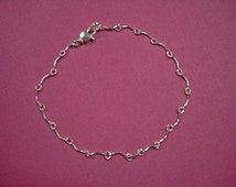 Anklets - Handcrafted Silver & Gold Ankle Chains - 4 Different Ankle Chains to Choose From