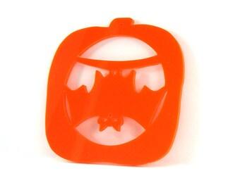 Halloween Decoration Bat Pumpkin Ornament Hand Cut Acrylic