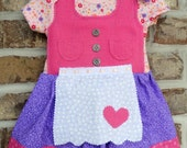 Baby dirndl 0-3 month (Oktoberfest dress)