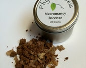 Necromancy Incense - Used in contacting the ancestors, raising the dead, and other dark arts
