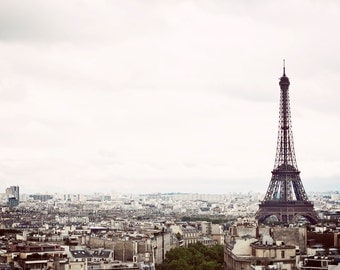 PARIS Photography, PARIS Eiffel Tower, Travel Photography, Paris Landscape, Paris Photo, Paris Print, Eiffel Tower Gift, Eiffel Tower Photo