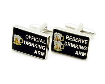 Beer Cufflinks