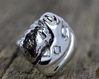 Ring. Sterling silver. Uch Syumer