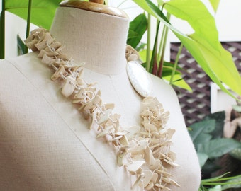Coconut Shell Beads Necklace - CL1409-17