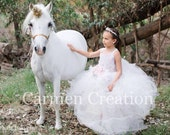 My little pony couture flower girl dress