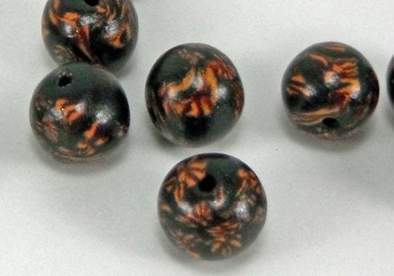 Unique polymer clay beads item b1011 beading supplies for Jewelry making supply store