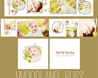 INSTANT DOWNLOAD  Woodland Bliss 3x3 WHCC Accordion Album