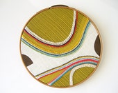 Modern Embroidery Hoop Wall Decor