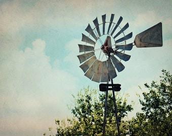 Windmill Photograph - Country - Farm