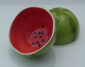Mini Watermelon Bowl