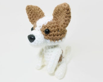 Chihuahua Crochet Dog  / Made to Order