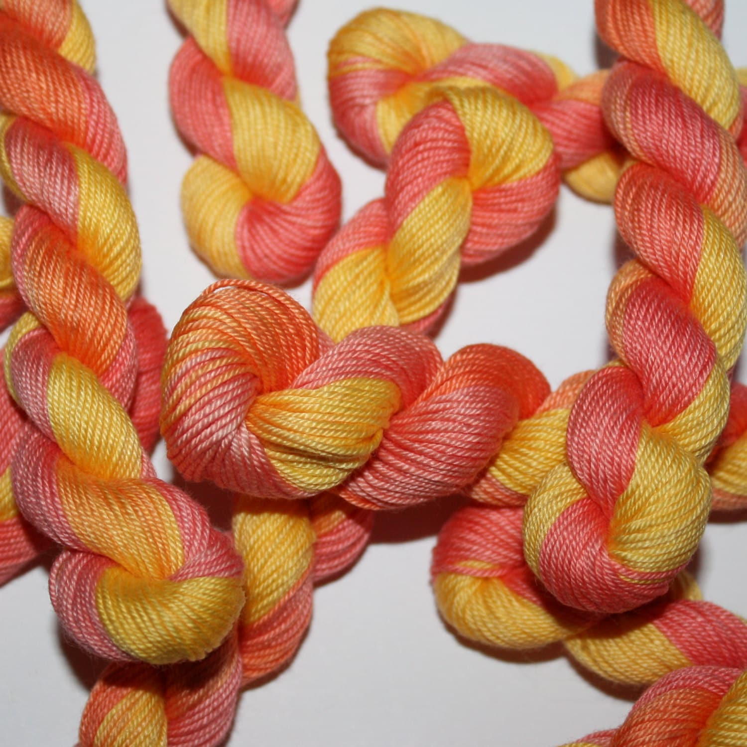 Hand embroidery thread brodery cotton yarn dyed