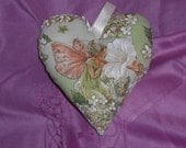 Flower Fairy Heart with Ribbon