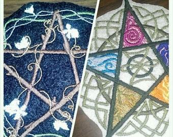 Pentagram patch.
