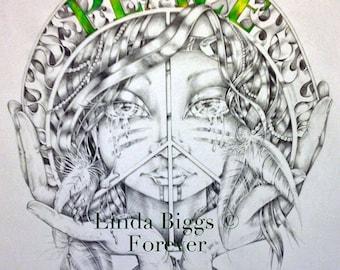 PEACE by Linda Biggs