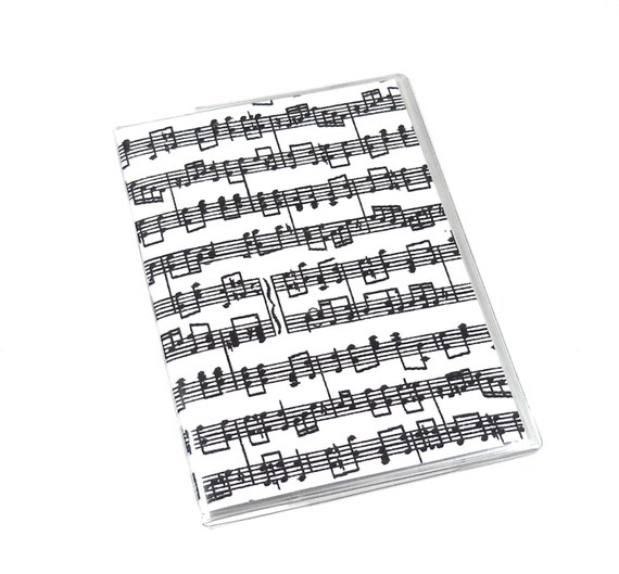 Passport Cover Music Notes