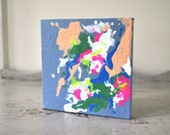 Mini Abstract Colorful Art Wall Hanging, Home Decor
