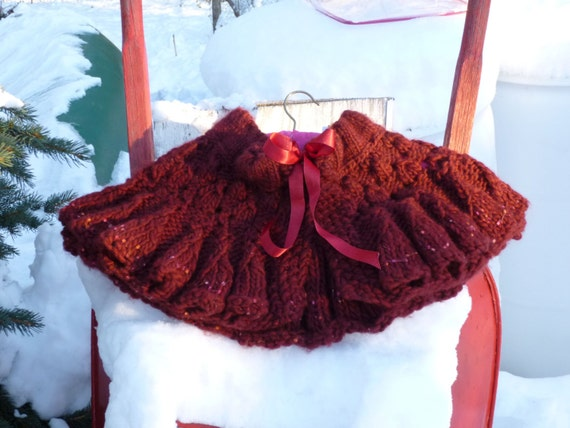 ANOTHER SALE!!!! Cranberry Cape for a Bride, Cool Spring Walk, Cozy Shawl Lover