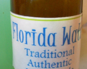 Florida Water Hoodoo Conjure Magic Cologne Handmade Traditional Authentic