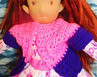 16 inch waldorf style doll free shipping was 350.00