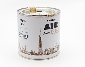 Original Canned Air From Dubai, gag souvenir, gift, memorabilia