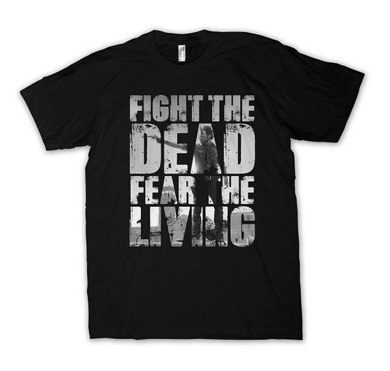 fear the living walking dead t-shirt