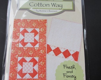 Fresh and Fancy - February Table Runner by Bonnie Olaveson
