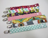 Pacifier Clips, DESIGN YOUR OWN, snap closure