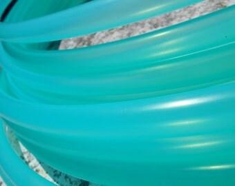 SeA GLaSs Colored Polypro Hula Hoop // Semi-Translucent Color // Custom Tubing, Diameter & Grip Options!