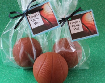 10  Basketball Party Favor Soaps  3D