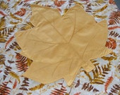 Cloth Placemats, Fall Leaves, Gold, set of 4