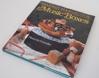 Book of DIY Music Boxes, Music Box Design Instructions, Making Creative Music Boxes, Handmade Music Box Gifts,  How To Book of Music Boxes