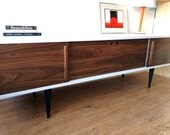 Foresta Credenza with Record Player Pull-Out Tray