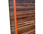 Wood Wall Art - Wood Art - Reclaimed Wood Art - The Valencia Collection - Modern Art - Custom Order for Karen
