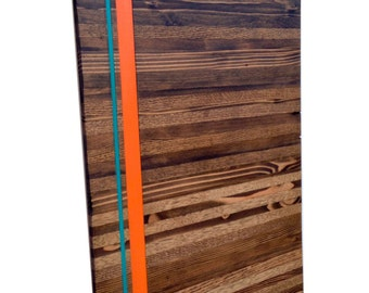 Wood Wall Art - Wood Art - Reclaimed Wood Art - The Valencia Collection - Modern Art