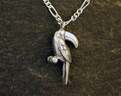 Sterling Silver Toucan Pendant on a Sterling Silver Chain