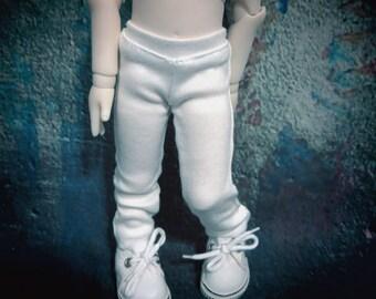 yoSD 27cm plain white leggings