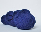 KAUNI 1 ply Lace Weight, Deep Blue, Kauni Wool Yarn