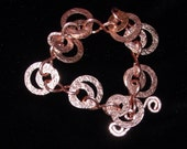 NEW THIS SEASON - Hammered Copper Bracelet