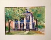 House Portrait-Watercolor