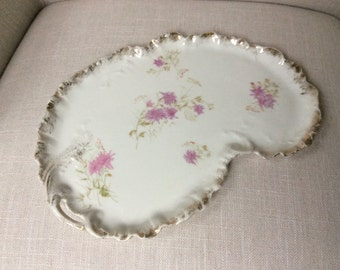 French Porcelain Dresser Tray