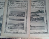 7 Issues of The Youth's Companion Magazine 1908