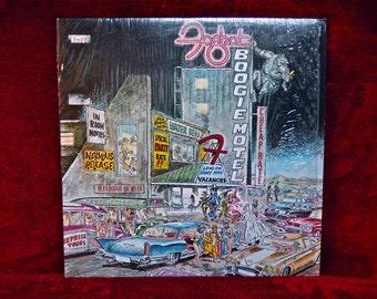 FOG HAT -  Boogie Motel - 1979 Vintage Vinyl Record Album