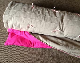 Ready to go! Inbetweenie size child/pre teen sleeping bag